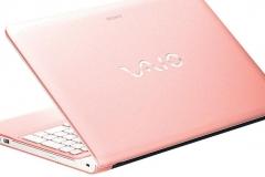 Computadora-sony-vaio-rosa